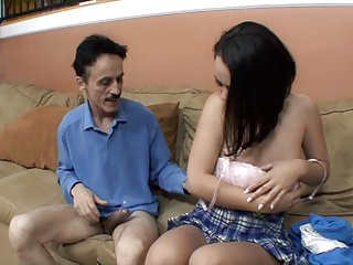 Old, Old and young, Older, Perky, Pussy, Sex, Solo, Teen, Tits, Young, Blowjob, Brunette, Facial, Fucking, Lingerie, Nylon