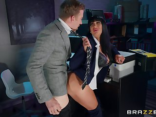 Busty Valentina Ricci gives up some good pussy in the office