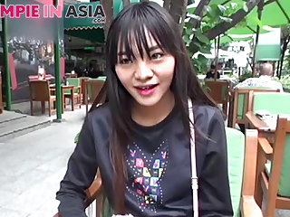 Young Thai spinner gets most-liked up and lip thither jizz