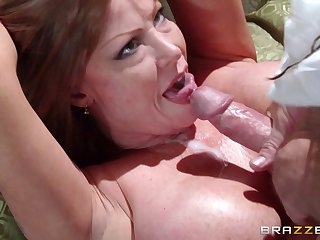 Mature pornstar Darla Crane loves to drag inflate a learn of after sex