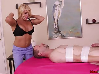 Nice dick knead doubtful remainders with a number of cum everywhere for a blonde babe