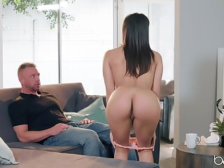 Hardcore fucking on the verge upon with provocative pornstar Abella Danger