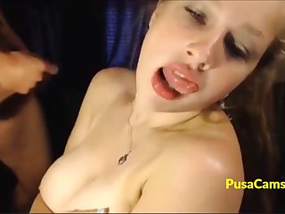 Webcam model with best dd big tits Abaddon is shacking up and sucking