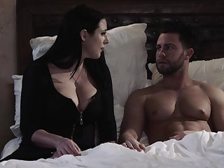 Erotic fucking between a cheating wife Angela White coupled with her hotshot