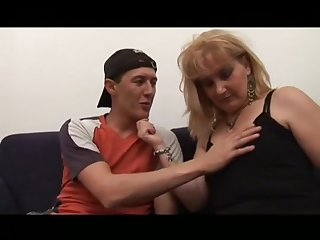Milf Hairy Stepmom Helping Younger Supplicant To Become A Supplicant