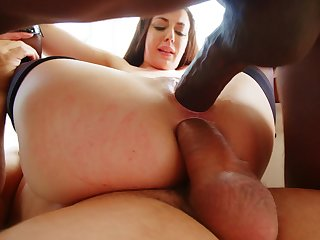 Double anal fun for the needy spliced