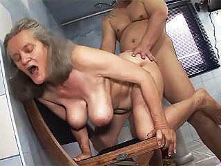 busty 83 years ancient mom rough fucked