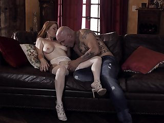 Bald gay blade stings premium unsubtle with the right inches
