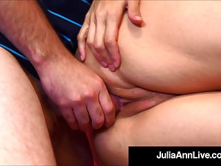 Teacher Fucking Time With Professor Julia Ann Banging Student!
